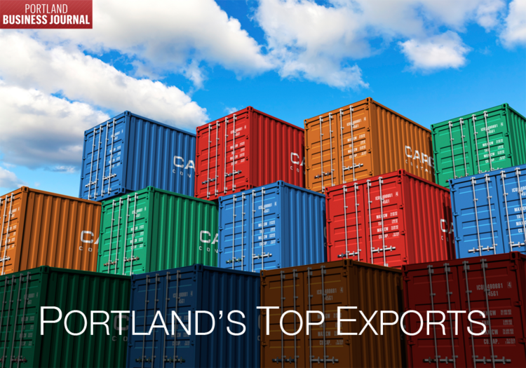 Click through the gallery for a look at Portland's top five exports.