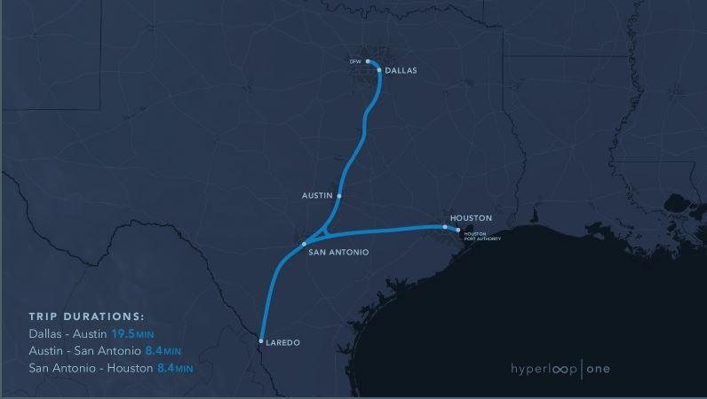 Hyperloop could be coming to one of these 11 US routes Houston