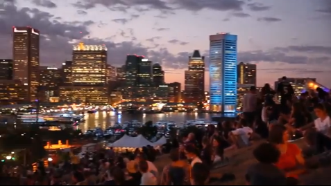 Downtown Partnership of Baltimore Inc. created a new ad to highlight living and working in Baltimore.