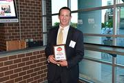 Award winners at the Philadelphia Business Journal's Best Places to Work event at the Wells Fargo Center.