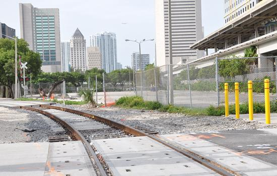 All Aboard plans a Miami station on 9 acres owned by parent Florida East Coast Industries.