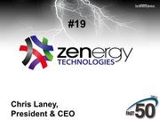 Zenergy Technologies is a Greensboro company that identifies defects in software. The company did not publicly disclose its 2012 revenues.