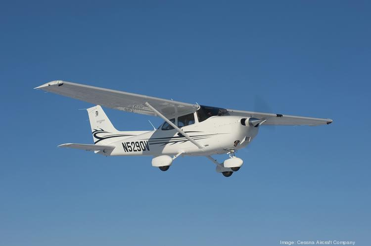 Pilots of piston-engine aircraft, like the Cessna Model 172 Skyhawk, are benefiting from lower prices for aviation gasoline, known as avgas.