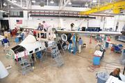 A small team of workers at Cessna's plant on East Pawnee Street have been at work for 18 months now on the Scorpion, a clean-sheet military plane designed for a wide variety of possible missions. What started as a group of nine people grew to about 200 people working on the program at the peak of the development phase. The engines have now been fired up for the first time and the first flight is scheduled for later this year out of McConnell Air Force Base.