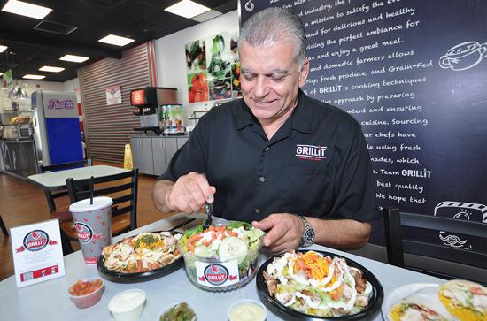"""""""Taking our inspiration from the successful Chipotle model, we have developed a comprehensive plan to transition the Grillit brand from the corporate restaurant model with initial operations in South Florida to a national rollout with a combination of company-owned and franchised locations,"""" Chairman and CEO Ghazi Hajj says."""