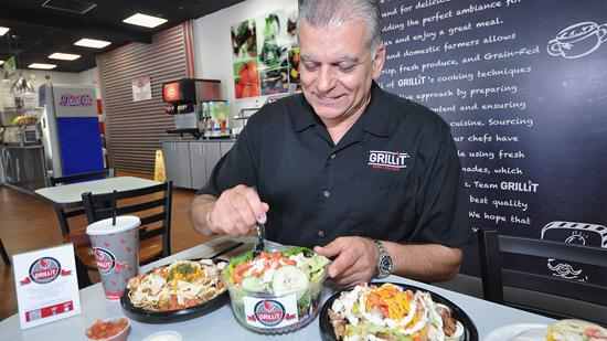 """""""Taking our inspiration from the successful Chipotle model, we have developed a comprehensive plan to transition the Grillit brand from the corporate restaurant model with initial operations in South Florida to a national roll out with a combination of company-owned and franchised locations,"""" Chairman and CEO Ghazi Hajj said. Next up is expansion to Arizona and Texas."""