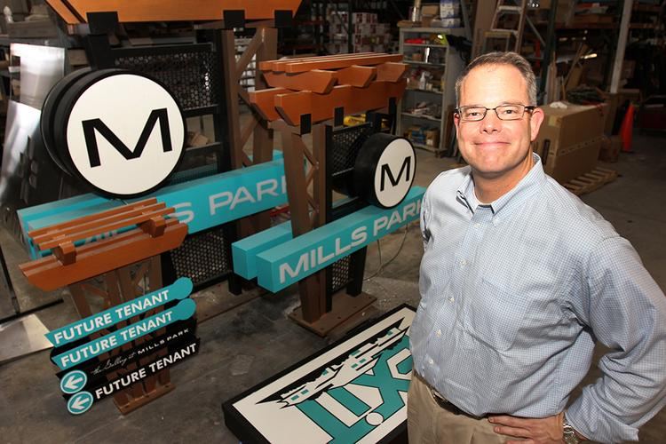 Creative Sign Designs CEO Jamie Harden