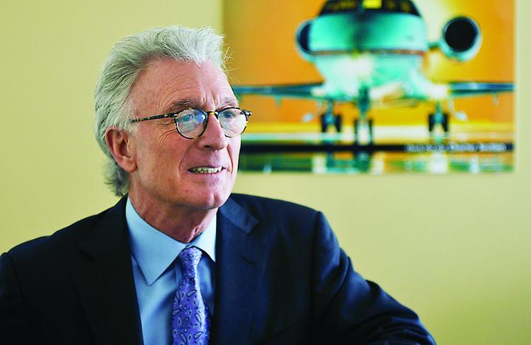 Jay Mesinger, CEO, president and founder of J. Mesinger Corporate Jet Sales Inc. in Boulder, projected that prices on planes will continue to decline for the next 12 to 18 months as demand slowly catches up to the market's oversupply.