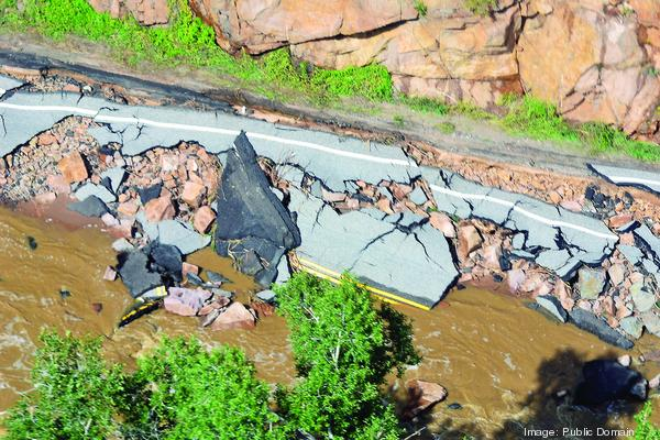 Long stretches of Colorado's roadways will have to be rebuilt after being heavily damaged by the floods.