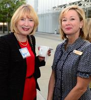 Georgia Bentley and Anne Webb with Georgia Natural Gas.