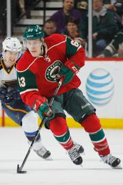 No. 6: Charlie Coyle, Minnesota Wild right wing. Pay: $975,000. As a rookie, Coyle had eight goals last season, tying for fifth on the Wild. He's the frontrunner to be the club's second-line center to open the 2013-2014 season.
