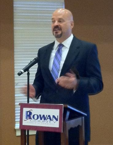 """Mike Hughes, Duke Energy's N.C. vice president for community relations says """"nuclear (power) has to be in the mix."""""""