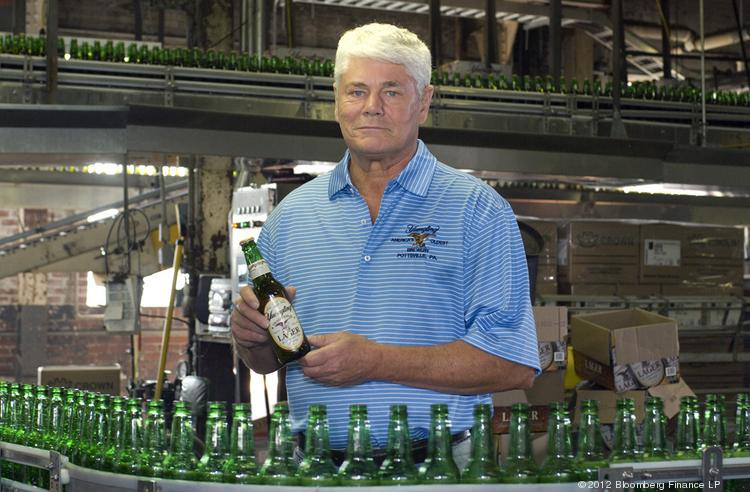Richard Yuengling is a fifth-generation owner of America's oldest operating brewery, D.G. Yuengling & Son.