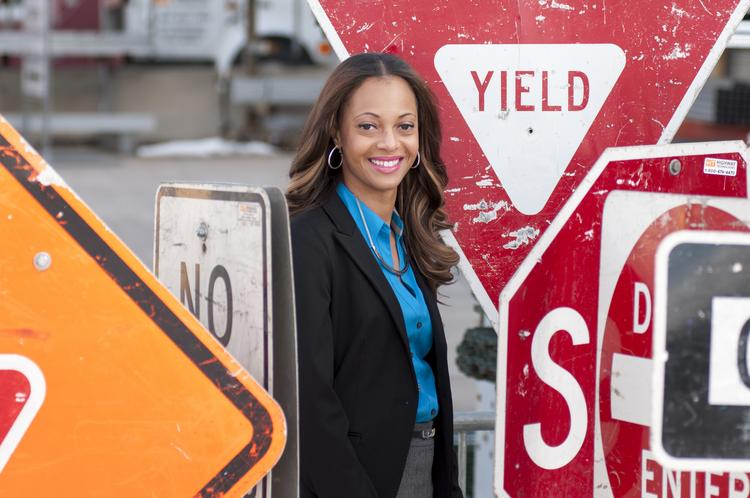 """Simone Ross, sales executive for Kaiser Permanente Colorado, says she's a little creative, quirky, passionate and dedicated, which """"when you mix all that up can be a pothole."""" Sometimes people can see her a """"tornado"""" coming. """"I'm trying to come in as a 'smaller tornado.' … Sometimes people just aren't ready for the tornado lady."""""""