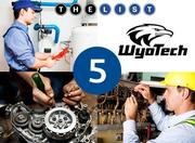 School: WyoTech, Fremont  Sample of programs: Motorcycle technology, Electrical, Plumbing  Adult full-time enrollment: 912  Full-time faculty: 53  Website: www.wyotech.edu/campus/fremont