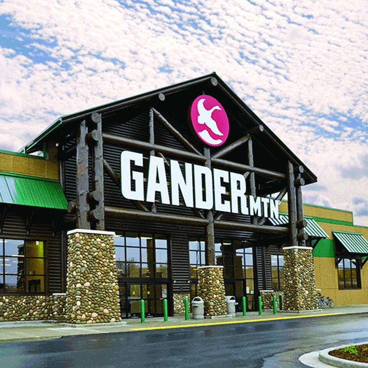 Gander Mountain debuted at the Westover Marketplace this year.