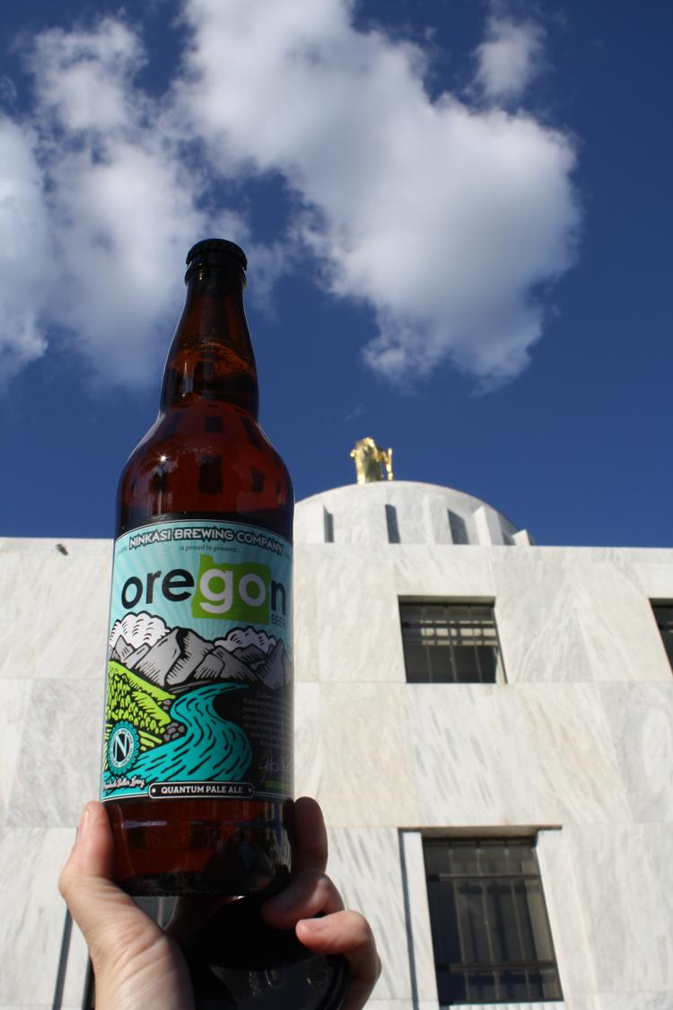 Oregon Beer, developed in partnership by Ninkasi Brewing Co. and Business Oregon, will be used as business recruitment tool.