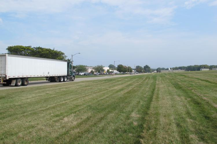 St. Francis officials are negotiating to use a large, vacant plot south of East Bolivar Avenue for the industrial park.