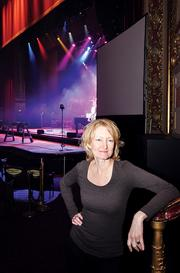 Holly Brown, who came to the Palace Theatre from Tampa in 2011, and her leadership team, have increased ticket sales and rebuilt an organization that lost $230,000 during the 2010-11 season.