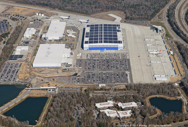South Carolina political leaders may have had little hope of winning the 777X for the North Charleston Boeing plant, pictured.