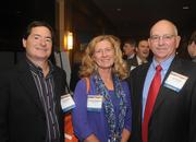 Steven Zeller and Carmen Ferguson of Donaldson Co. Inc., and Les Young of Hays Cos.