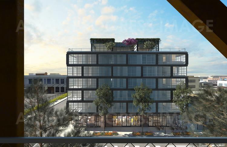 The JBG Cos. and Walton Street Capital LLC plan to break ground by the end of September or in early October on their redevelopment of the former Atlantic Plumbing and Supply site by Eighth and V streets NW.