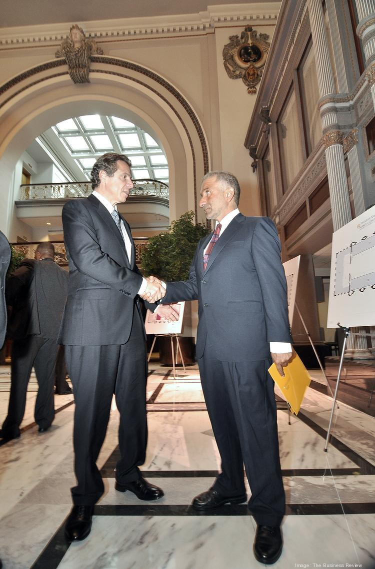 NY Gov. Andrew Cuomo and Alain Kaloyeros, CEO of the College of Nanoscale Science and Engineering in Albany.