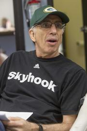 Jerry Zucker wore a Green Bay Packers hat during the filming.