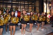 Prior to unveiling the Terps' newest look, Under Armour held a pep rally at its Harbor East store, complete with University of Maryland cheerleaders and a segment of the school's marching band.