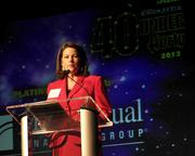 Jody Lentz from MassMutual Financial Group, a sponsor of the 2013 PSBJ 40 under 40 event at Showbox Sodo.