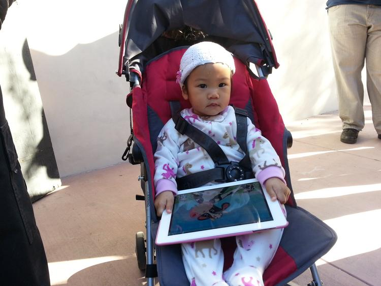 A future iPad owner might have her choice of colors.