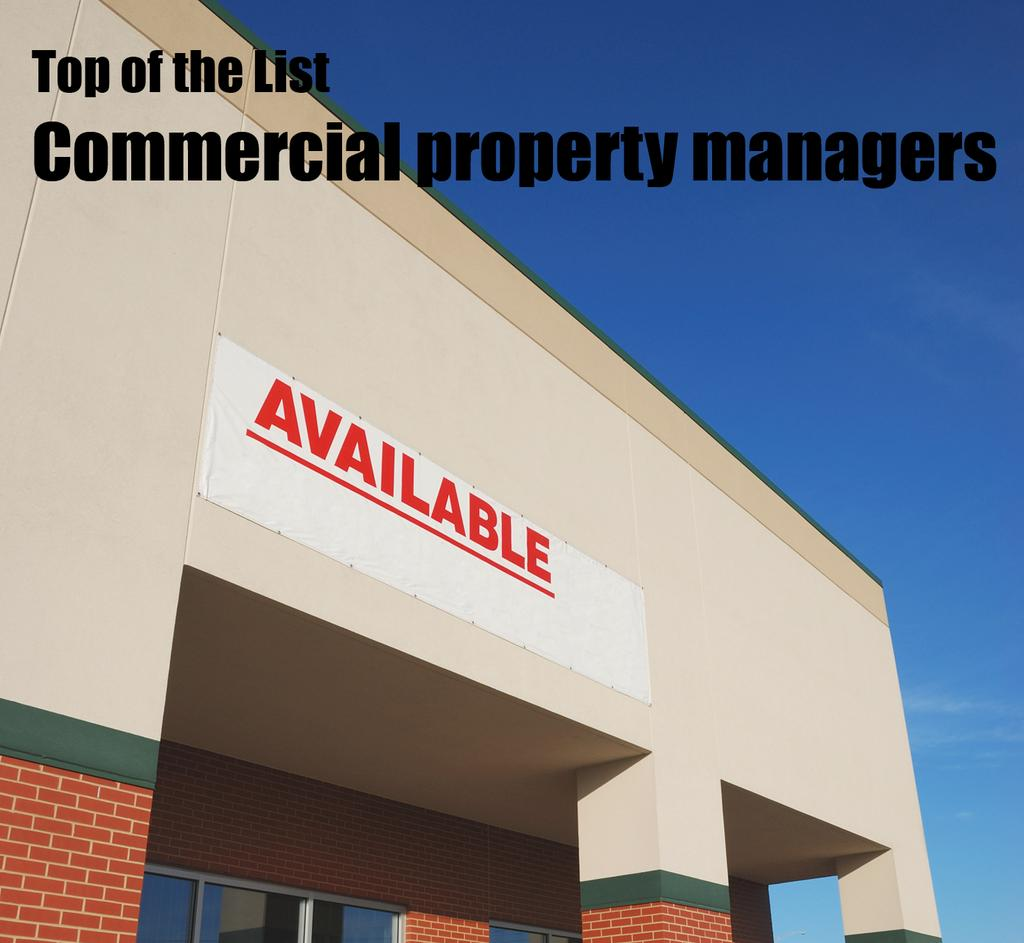 top of the list: commercial property managers - sacramento business