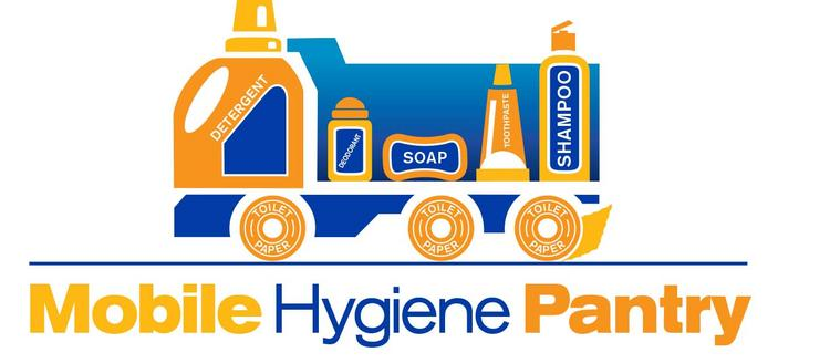 The logo for the Kansas Food Bank's Mobile Hygiene Pantry.