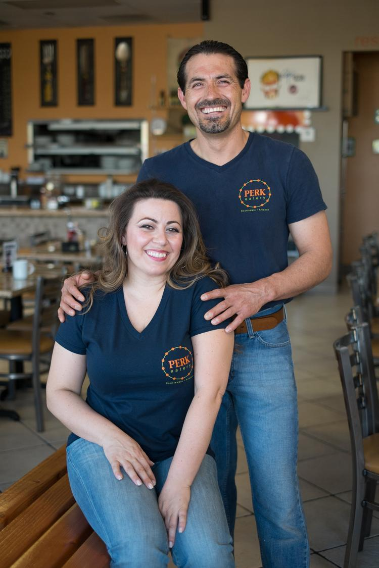Pauline and Carmen Martinez, owners of Perk Eatery in Scottsdale.