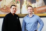 Mario Alatorre, left, is the executive chef at Firebirds. Stephen Wright is the general manager.