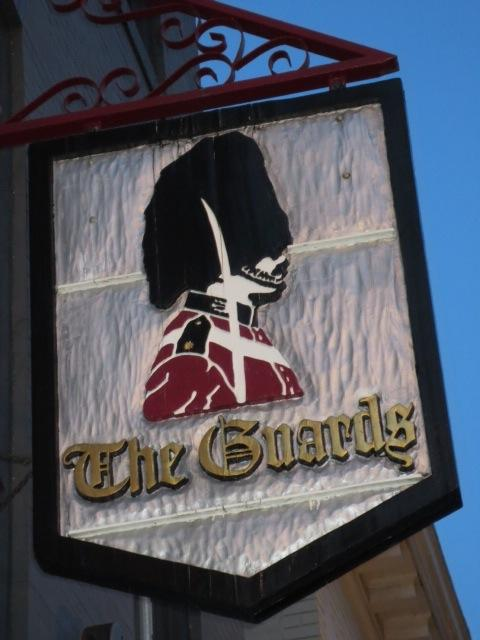 The Guards sign, which stood ever vigilant over M Street for decades, has been sold to a longtime devotee of the bar.