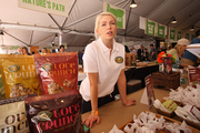 """Vancouver, B.C.-based Nature's Path features granola created with ingredients that are verified as non-genetically modified. The lines for Nature's Path's items were some of the longest during Feast Portland's Oregon Bounty Grand Tasting, at downtown's Pioneer Courthouse Square. """"The event's been wonderful, very fun, and everyone here is really nice,"""" said Nature Path's Justine Sanford. """"It's a great industry event."""""""