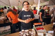 """Big things are happening for Bee Local and its founder Damian Magista. The company is expanding its Southeast Portland facility, with an opening date set for Sept. 28. Bee Local gave out honey samples at Feast Portland's Oregon Bounty Grand Tasting, which takes place Friday and Saturday in Portland's Pioneer Courthouse Square. """"This event has been insane: It's just exploded this year,"""" Magista said of Feast Portland, which was held for the first time in 2012. """"It's already the event of the year."""""""