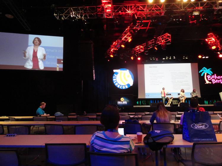More than 300 attendees gathered at Full Sail University for the 2013 Florida Blogger & Social Media Conference.