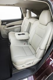 The interior of the 2014 Acura MDX.