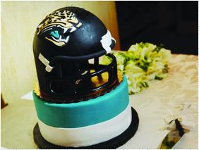 The Jacksonville Jaguars have a  Pinterest account where the team pins everything from game day photos to teal-and-gold wedding inspirations.  Click through the photos for more examples of Jacksonville companies using Pinterest.