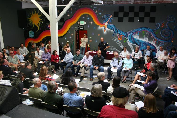 San Jose Downtown Association members gathered on Sept. 13 to discuss recommendations for the City of San Jose on issues ranging from chronic homelessness to a nagging lack of urban design and architecture.