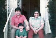 No. 14: This Minority Business Leader honoree poses with his parents and now runs a construction company.
