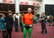 Hey look,it's Aquaman. OK, it's Arthur Curry from Eugene.