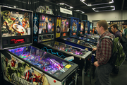 Video games new and vintage were available in abundance at Rose City Comic Con.