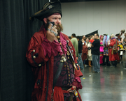 Expect the unexpected, Pirates on cell phones at Rose City Comic Con.