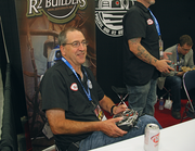 """When  Bob Jacobsen of Seattle first saw R2-D2 in a """"Star Wars"""" movie, he said, """"I have to build one of those."""" He joined an R2 builders club and after four year and about $15,000 invested, he has a finished"""" R2-D2 - though he admits it's never really done. He takes his droid to charity events, including visiting sick children in hospitals. Seeing their smiles, he said, """"makes it all worthwhile!"""""""