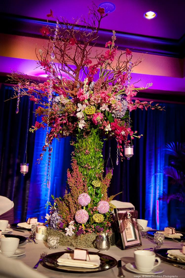 PRI Productions centerpiece for a vow renewal event. Click through the slideshow to see more photos that area companies have shared on Pinterest.