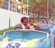 No. 16: This Minority Business Leader honoree had the need for speed at an early age; shown here with his mother.