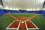 The facility will have an indoor baseball field among several sports available for customers.